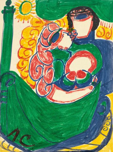 Aloïse Corbaz, 'Poignard Borgia de Venise', 1963-1964