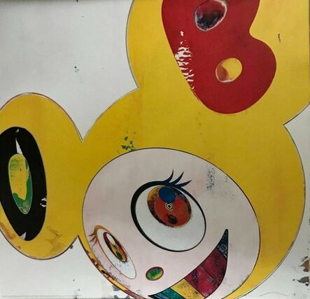 Takashi Murakami, 'And then, and then, and then, and then, and then…..(Yellow Jelly)', 2008
