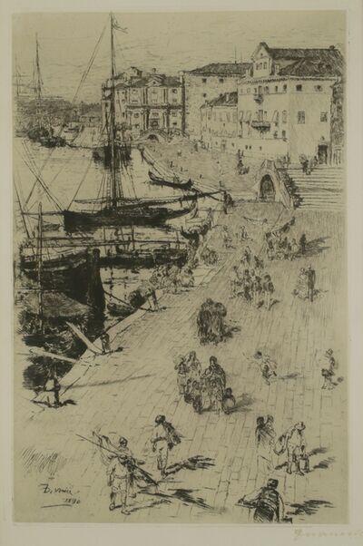 Frank Duveneck, 'Rive, Venice', 1880