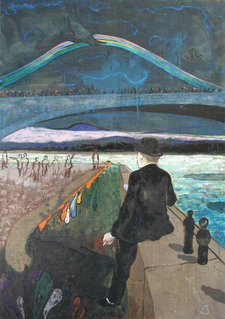 Luka Kurashvili, 'Man by the River', 2017