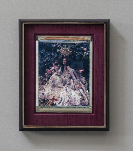 """Cathleen Naundorf, '""""La mariée dorée"""" – Haute Couture Christian Lacroix', 2007"""