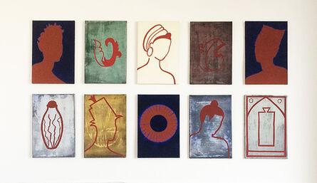 Liv Mette Larsen, 'Verschiedene Portraits und Muster', 1998-2000