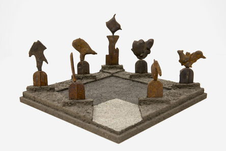 Tom Phillips, 'Shrine', 2003