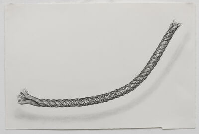 Claudia Parducci, 'Rope Drawing, Day 24', 2019