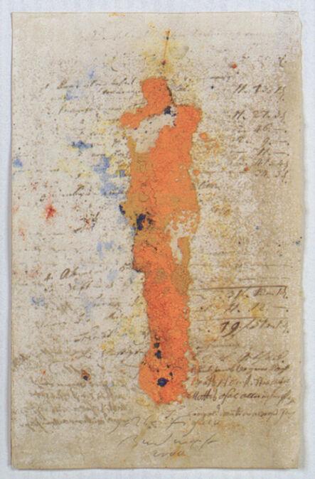 Jürgen Brodwolf, 'Pigmentfigur', 2000