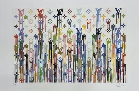 Zevs, 'LV Multicolore', 2021