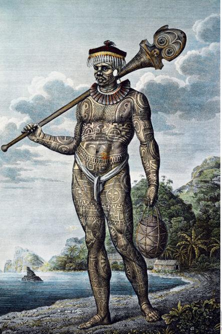 Wilhelm Gottlieb Tilesius von Tilenau, 'Native of Nukahiva Island', 1804