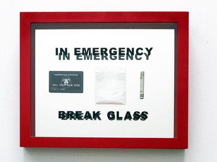 "Plastic Jesus, '""In case of Emergency Break Glass"" – Mixed Media Sculpture', 2018"