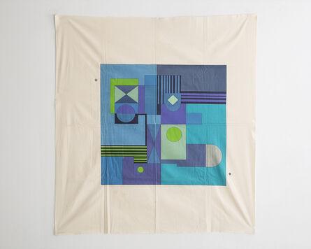 Roberto Burle Marx, 'Multi-colored textile'