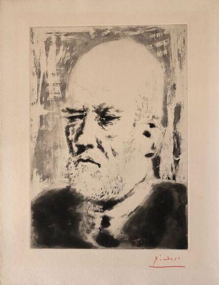Pablo Picasso, 'Portrait de Vollard II ', 1937