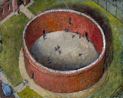 Chester Arnold, 'Circular - Detention Facility', 2018
