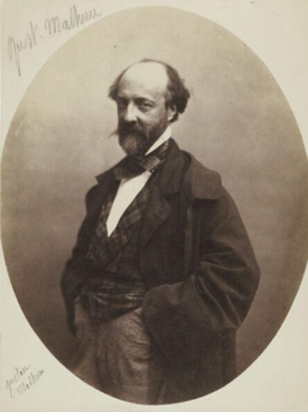 Nadar, 'Gustave Mathieu', 1855-1859