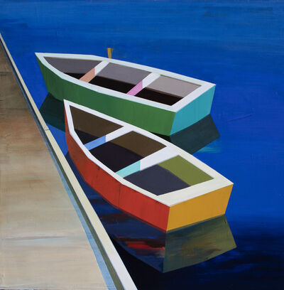 Siddharth Parasnis, 'Colorful Boats in the Bay #32', 2021