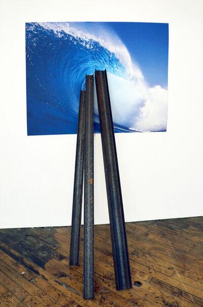David Brooks, 'Entangled Image (Blue wave)', 2013