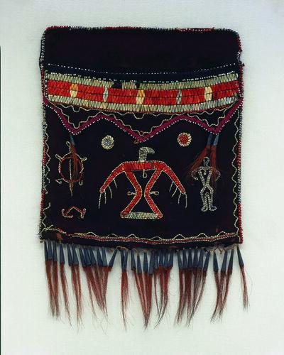 Anishinaabe, Ojibwa, 'Shoulder bag (without strap)', ca. 1820