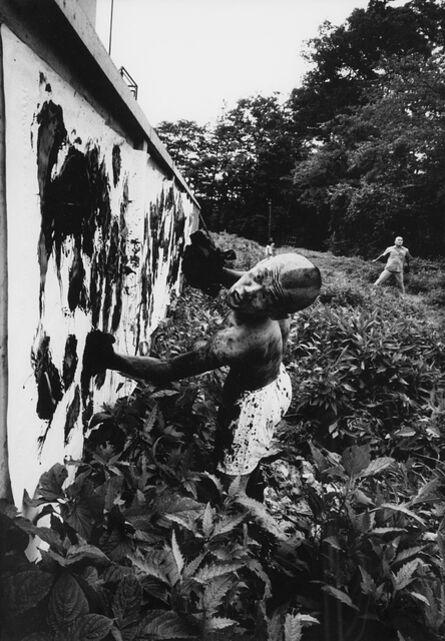 William Klein, 'Boxer-painter, Tokyo', 1961