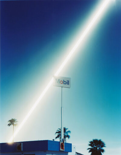 Ken Kitano 北野 謙, 'A signboard of Mobil, 2013', 2013