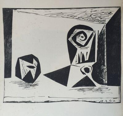 Pablo Picasso, 'Composition au Verre à pied', 1947