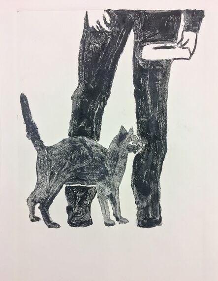 Richard Bosman, 'Untitled (Feeding the Cat)', 2017