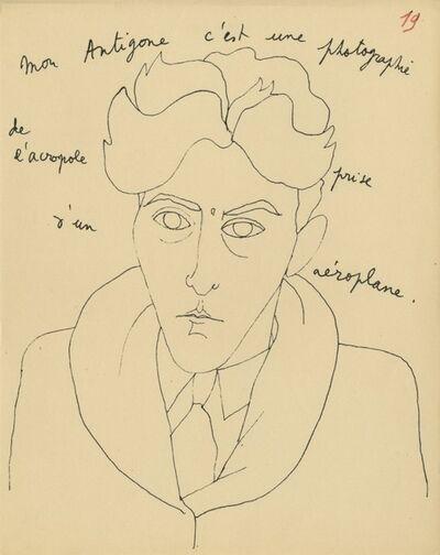 Jean Cocteau, 'Le mystère de Jean l´oiseleur, Monologues/ The Mystery of Jean the Bird-Catcher, Monologues)', 1924