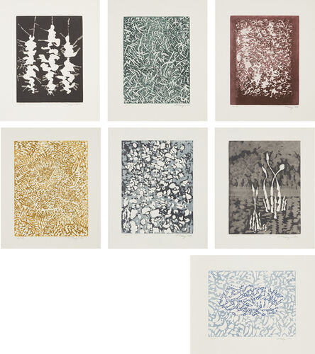 Mark Tobey, 'Transitions', 1971