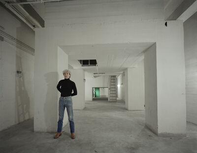 Timothy Hursley, 'Andy Warhol, Factory Basement, Madison at 34th, New York', 1983