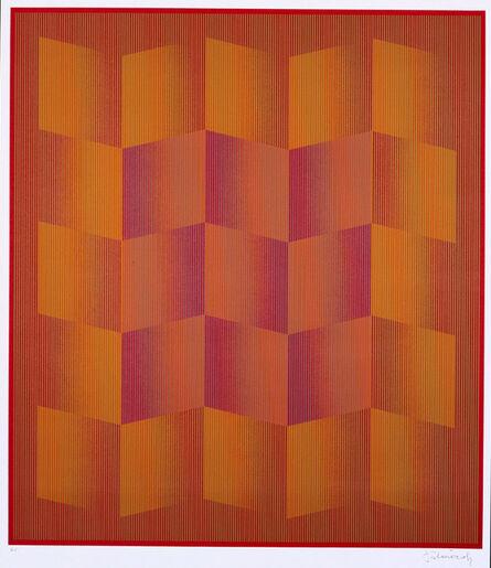 Julian Stanczak, 'Stratified', 1981