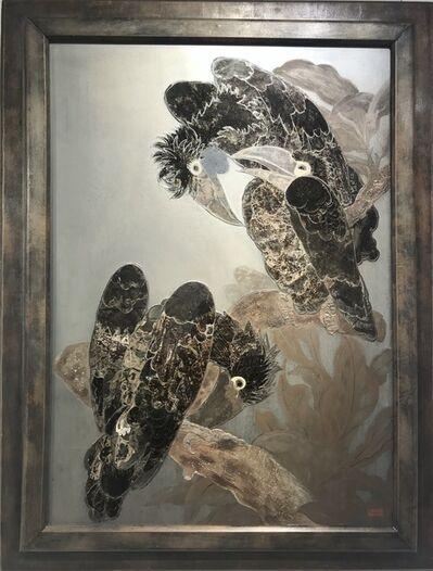 Camille Roche, 'Three Birds', ca. 1940