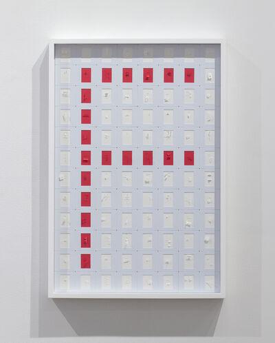 Marco Maggi, 'Letterist (Slide Typewriter F)', 2019