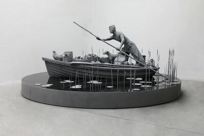 Hans Op de Beeck, 'The Boatman', 2020