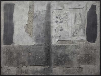Antoni Tàpies, 'Superposition de matière grise (Superimposition of Grey Matter)', 1961