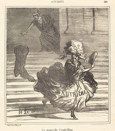 Honoré Daumier, 'La Nouvelle Cendrillon', 1866