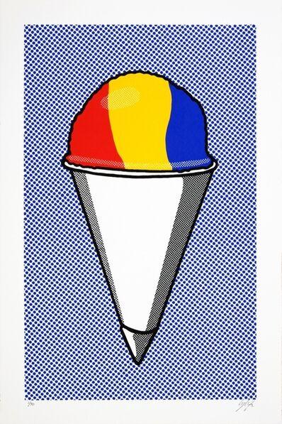 Cory Oberndorfer, 'Snow Cone (after Lichtenstein)', 2018