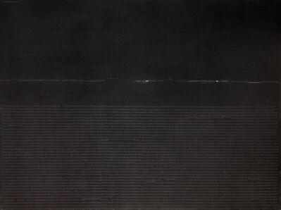 Carlo Alfano, 'Frammenti di un autoritratto anonimo dal 393° al 201° secondo', 1974