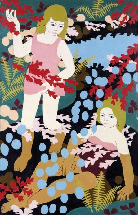 Norman Gilbert, 'Two Girl Bathers', 1968