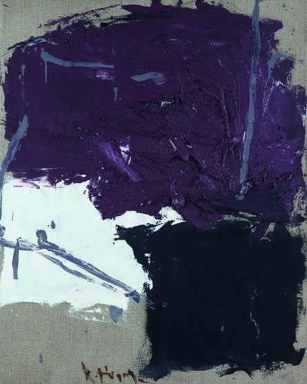 Huang Rui 黄锐, 'Purple No. 2', 1991