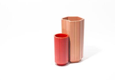 India Mahdavi, 'Monochrome Vases SET #2-3 from Series 3', 2013