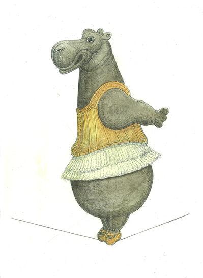 Bjorn Skaarup, 'Hippo Tightrope Dancer', 2017