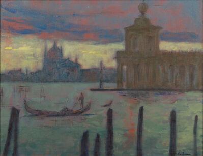 Adam Van Doren, 'Dogana di Mare with Gondola'
