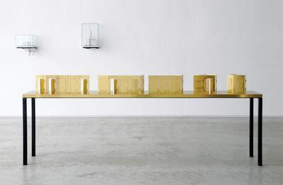 Caroline Van den Eynden, 'Parliament III, concept for an outdoorspeech area', 2014