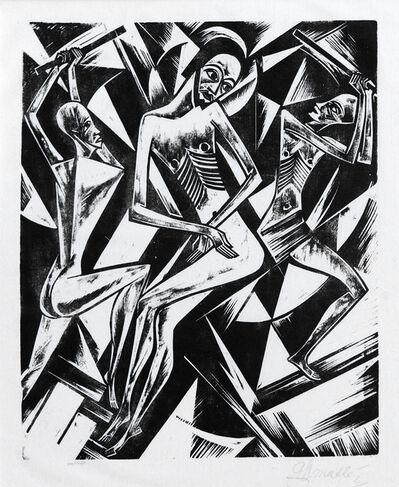 Georg Alexander Mathéy, 'Geilßelung (Flagellation)', 1921