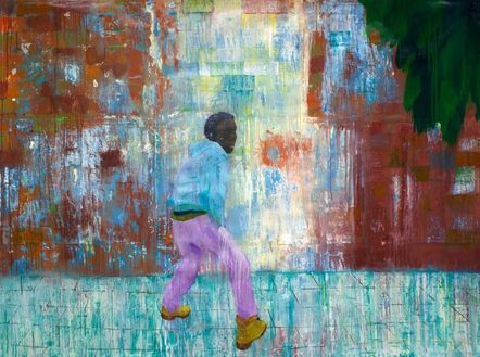 Sedrick Chisom, 'The Superstitions of Ahab, who pissed against the wall', 2019