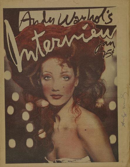 Andy Warhol, 'Interview, Marisa Berenson', 1975