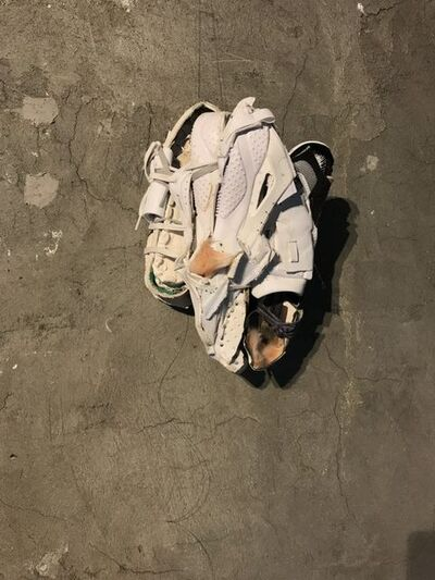 Yi Zhang, 'Fossil of blinding walk', 2018