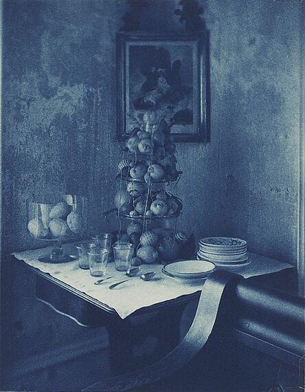 John Dugdale, 'Citrus Fruit on Parlour Table, Stone Ridge, NY', 1996