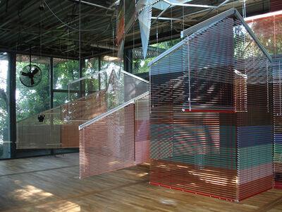 Haegue Yang, 'Series of Vulnerable Arrangements--Voice and Wind (detail)', 2009
