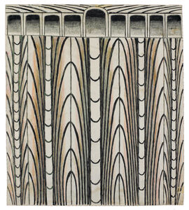 Martín Ramírez, 'Untitled (Abstraction with Arches)', 1960