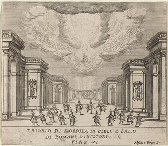 Alfonso Parigi II, 'The Triumph of Saint Ursula in Heaven and the Roman Conquerors'
