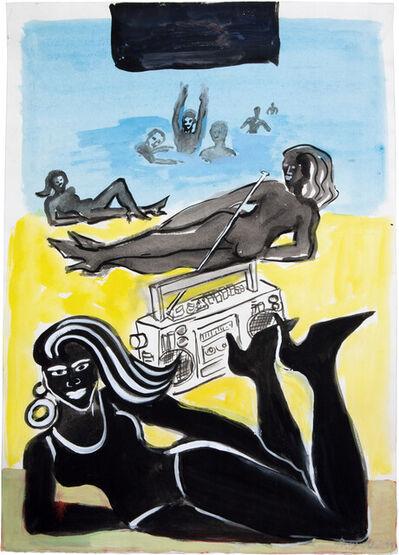 Elvira Bach, 'Nikki Beach', 2011
