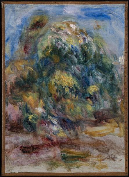 Pierre-Auguste Renoir, 'Paysage à l'arbre', 1917